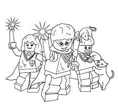 Harry Potter Coloring Pages Color Bros
