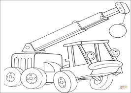 Small Picture Lofty Helps Bob To Destroy The Building coloring page Free