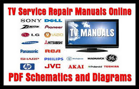 tv service repair manuals schematics and diagrams tv service repair manuals pdf schematics and diagrams