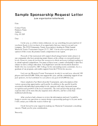 Event Sponsorship Letter Sponsorship Letter For An Event Features Parts Of Resume Sponsorship 1