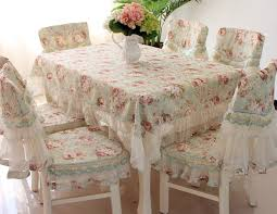 dining room various ty218 fashion embroidered rustic dining table fabric chair cover of covers from
