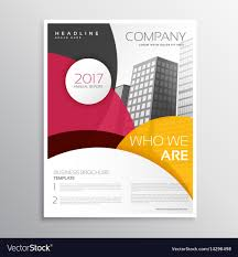 Brochure Templates For It Company Modern Company Brochure Or Leaflet Template