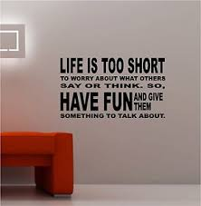 image is loading life is too short vinyl wall art quote  on vinyl wall art quotes for kitchen with life is too short vinyl wall art quote lounge kitchen bedroom ebay
