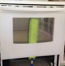 clean oven glass door cleaning oven