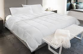 down alternative blanket exclusive bedding linenore from courtyard