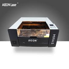 oem customized leather laser cutting machine mira series mira5 aeon