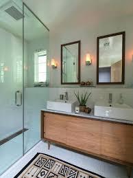 Houzz Medicine Cabinets Mid Century Modern Bathroom Vanity Recessed