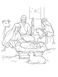 Small Picture Coloring Pages Christmas Nativity Coloring Pages Printable