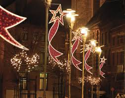 diy christmas lighting. Christmas+Decorations+for+City+Poles | Dekra-Lite Commercial Christmas Lights Diy Lighting