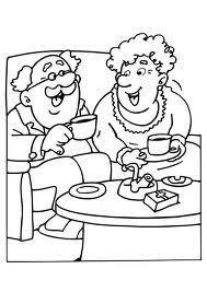 Oma En Opa Kleurplaat Google Zoeken Kbw 2016 Grandma Grandpa