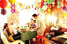 Small Picture Home Decoration Ideas For Birthday Birthday Party Decorations