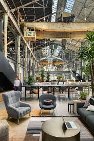 Warehouse Office Space Design Office Tour Gusto Headquarters San Francisco Industrial
