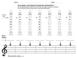 Recorder Fingering Quizzes Exclusive Music Music