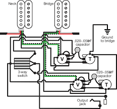 Les Paul Wiring Schematic Epiphone Humbucker Wiring-Diagram