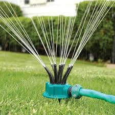 360 degrees flexible garden yard sprinkler durable lawn pipe hose irrigation system grass lawn water sprayer sprinklers com