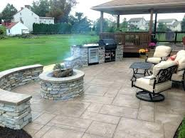 stamped concrete patio ideas lovely best con