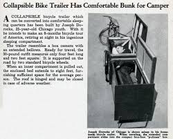 Bike Camper Trailer Brainstorming A Homemade Mc Camper Archive St Ownerscom Forums