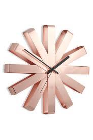 <b>Часы настенные ribbon медь</b> Медный, купить, цена с фото в ...