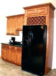 wine rack cabinet above fridge. Above Fridge Storage Over Cabinet Wine Rack E