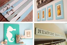 beach crafts coastal diy wall art photo details from these image we try to