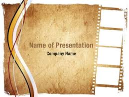 Powerpoint Frame Theme Movie Strip Powerpoint Templates Movie Strip Powerpoint