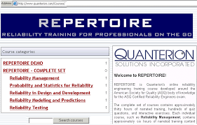 figure 2 repertoire reliability training courses certified reliability engineer