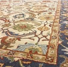 pottery barn eva rug 3x5 persian style tufted wool new authentic
