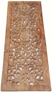 asian carved wood wall art