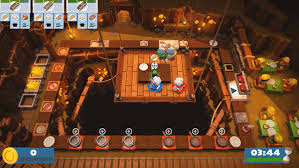 overcooked was designed and built as a local co op game and therefore the infrastructure for multiplayer just isn t there we have no