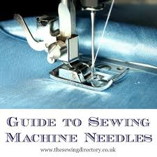 Sewing Machine Needle And Thread Chart Sewing Machine Needle Guide