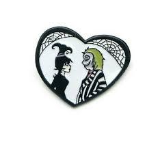 <b>Beetlejuice Pin</b> Lydia Love Heart Ghost Horror series Hallwoen ...
