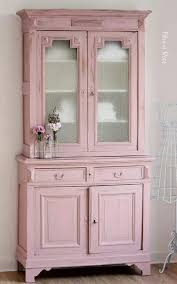 pink shabby chic furniture. color pink china cabinet in dining room shabby chic furniture