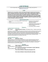 Educator Resume Template Free Teacher Resume Templates And Free