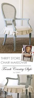 Thrift Store Chair Makeover. French Country ChairsFrench ...