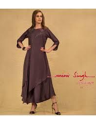 Singh Designer Mini Singh Designer Grey Dress 8936