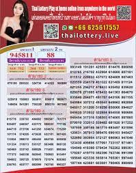 Thailottery - Thai Lottery