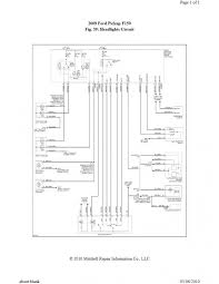2009 ford f150 wiring diagram 2009 ford f 150 wiring diagram for 2004 ford f150 headlight wiring diagram at Ford F150 Headlight Wiring Diagram