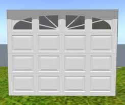 rw garage doorsSecond Life Marketplace  Garage Door White w Sunset Windows