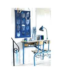 hanging desk organizer you will need a lot of used jeans as you will be cutting off their pockets