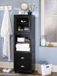 elegant black wooden bathroom cabinet. Awesome Bathroom: Remodel Interior Design For Black Bathroom Wall Cabinet Cabinets Pinterest Storage Elegant Wooden D