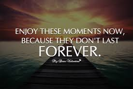Moments Quotes Custom Enjoy These Moments Now Quote