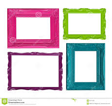 Colorful Picture Frames Royalty Free Stock Photo Image 9371455