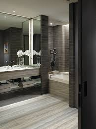 grey modern bathroom ideas. warm grey neutrals. modern bathroom ideas n