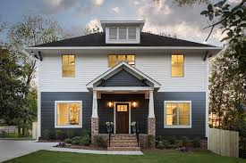 custom craftsman style family home