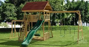 kids outdoor swing set designs