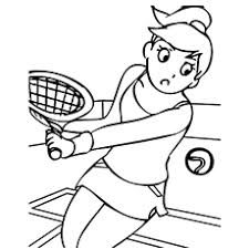 I have prepared these free printable sports balls coloring pages with soccer, tennis, football (rugby), baseball and basketball balls. Free Printable Sports Coloring Pages Online