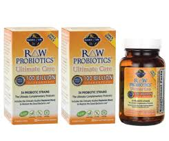 2 pack garden of life raw probiotics ultimate care 100 billion 30 x2 capsules