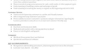 Cashier Duties For Resume Resume Of Cashier Airexpresscarrier Com