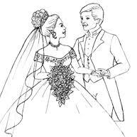 Huwelijk En Trouw Kleurplaten Voor Feesten Kleurplaatjecom