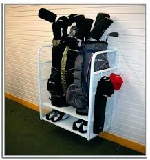 golf rack golf bag organizer for garage photo 1 of 8 golf bag storage rack golf bag stand for garage gallery 1 golf bag garage storage golf club organizer